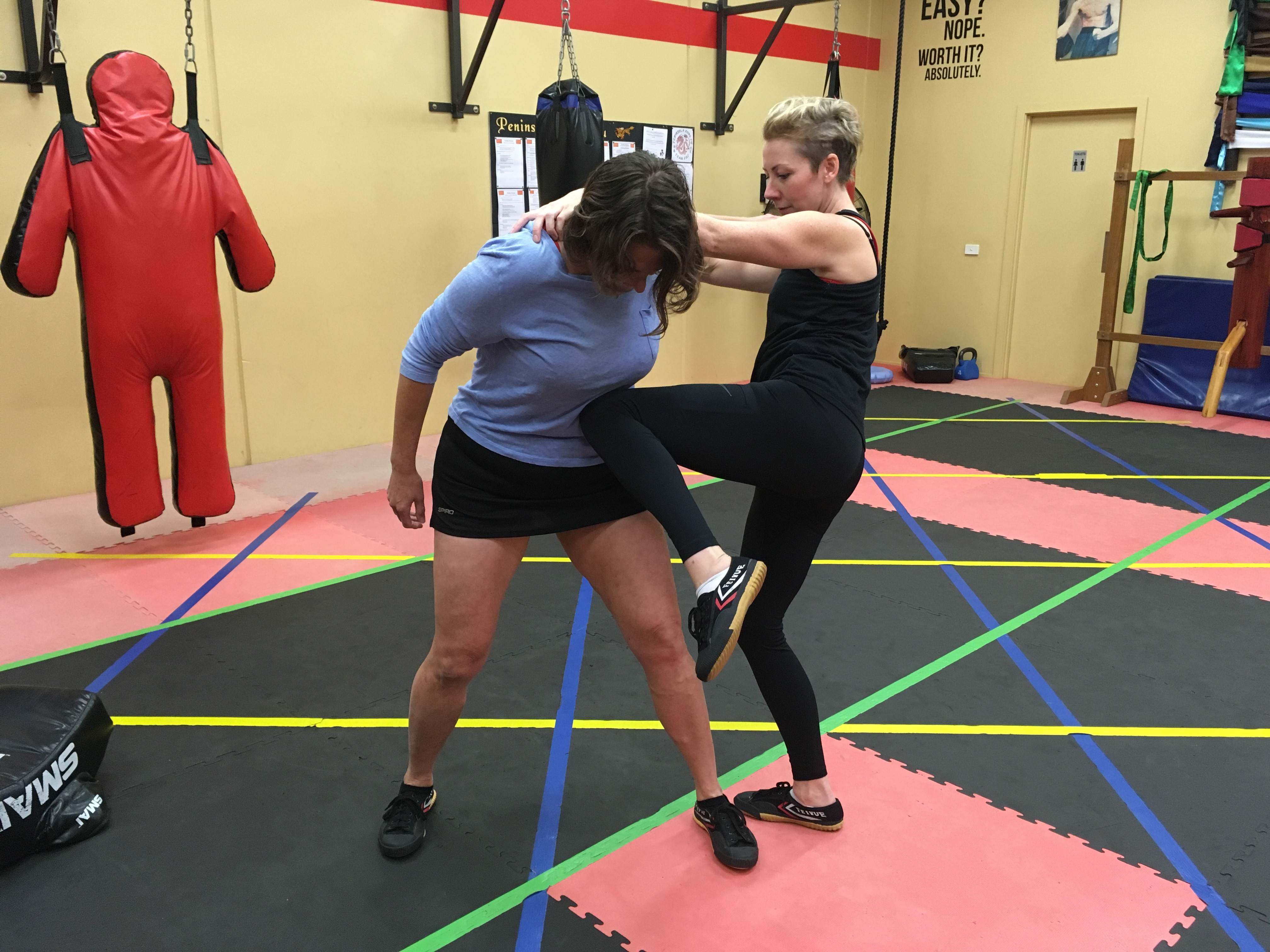 Women's Self Defence Classes Mornington